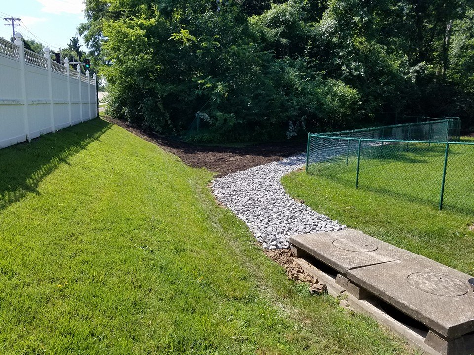 French Drain Open