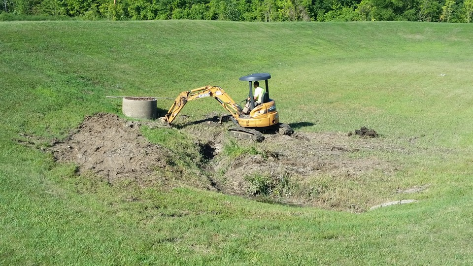 Stormwater management before