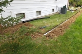 downspouts and sump pumps